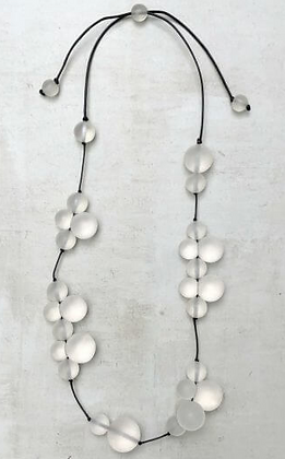 Taylor Frosted Bubble Necklace