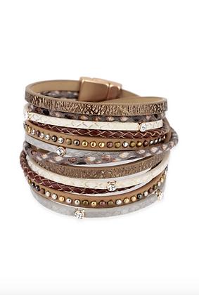 Gladiator Leather Bracelet