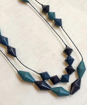 Rhonda Necklace - Blue