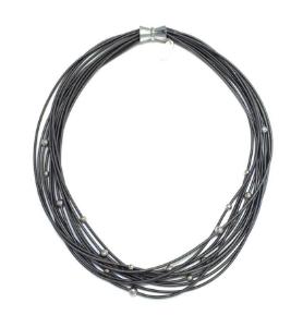 Lori Multi Strand Necklace - Slate
