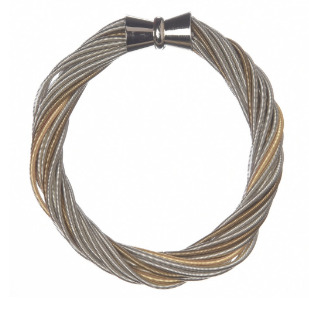 Laura Bracelet - Silver and Gold