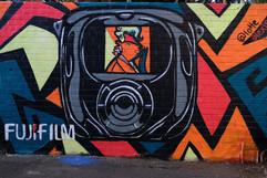Fuji Film Mural
