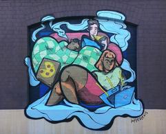 Flatmates.com.au mural