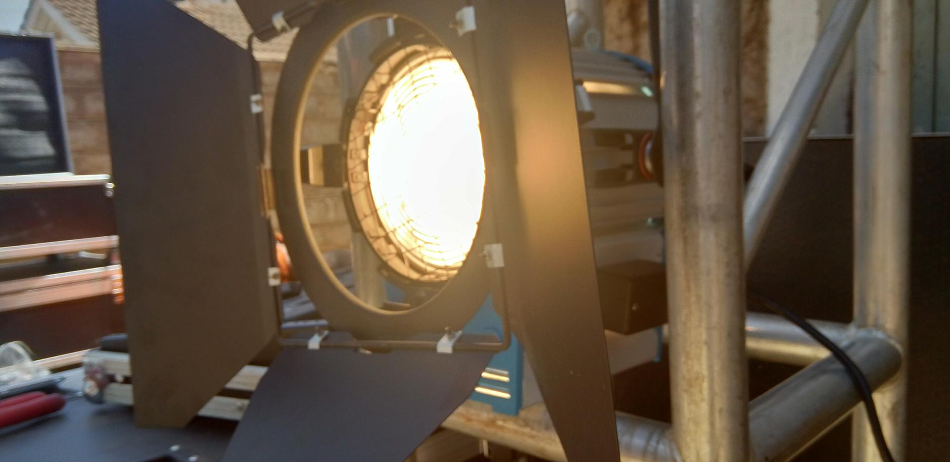 LED Fresnel Lights