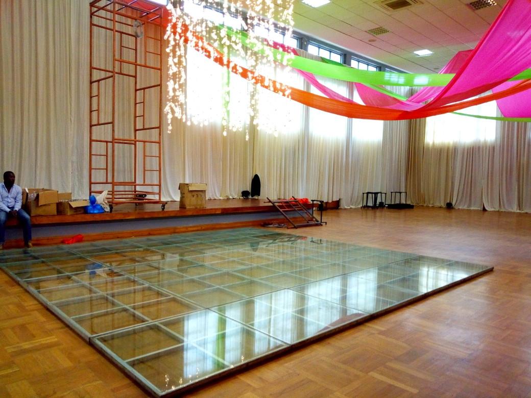 Glass Dancefloor