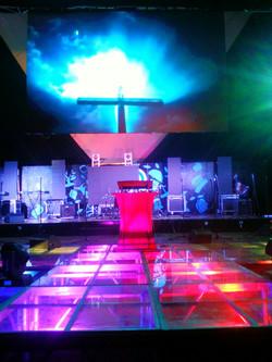 Stage Underlighting