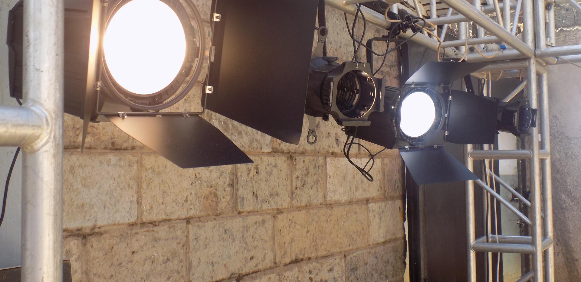 LED Profile lights and Fresnels