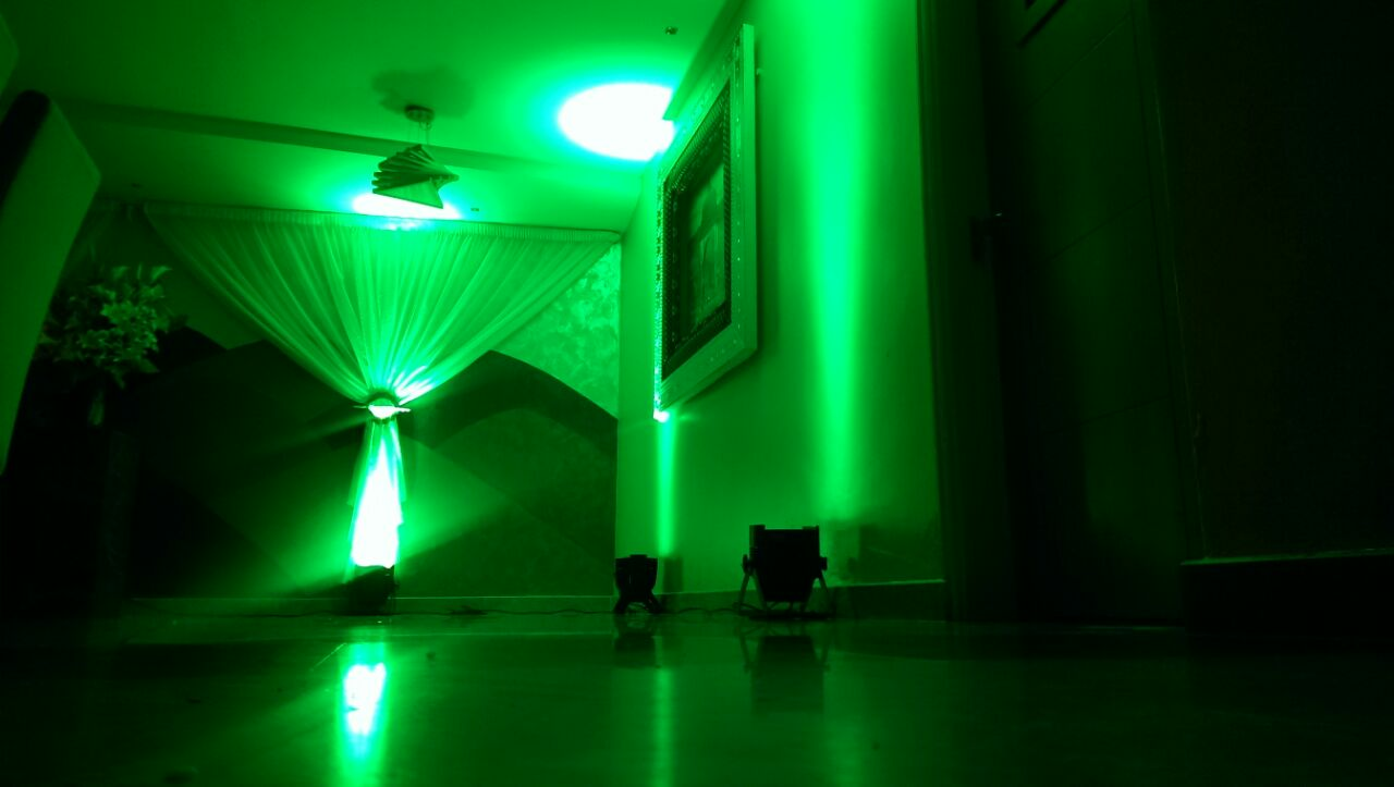 Green Uplighting