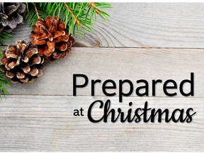 Prepared at Christmas