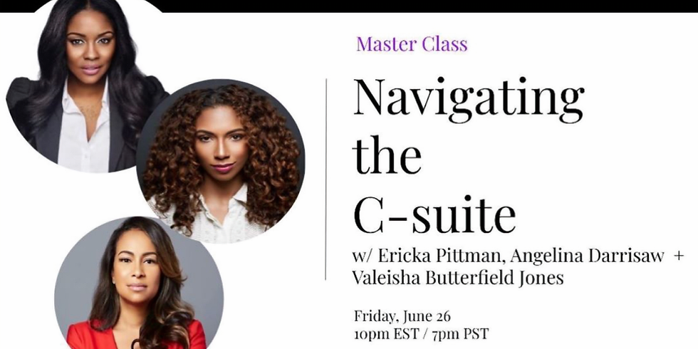 Master Class: Navigating the C-suite