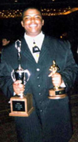 2003 Declamation NATIONAL CHAMPION Mauricus Lofton, CFL
