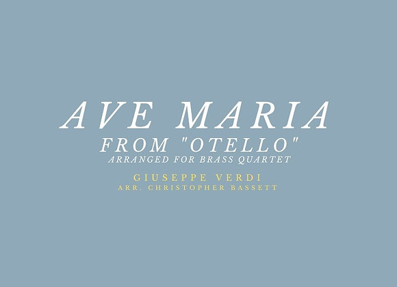 """Ave Maria"" from Verdi's ""Otello"""