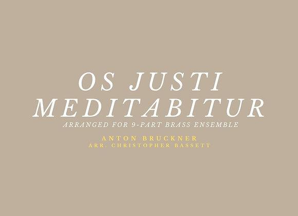 Os Justi Meditabitur - Anton Bruckner