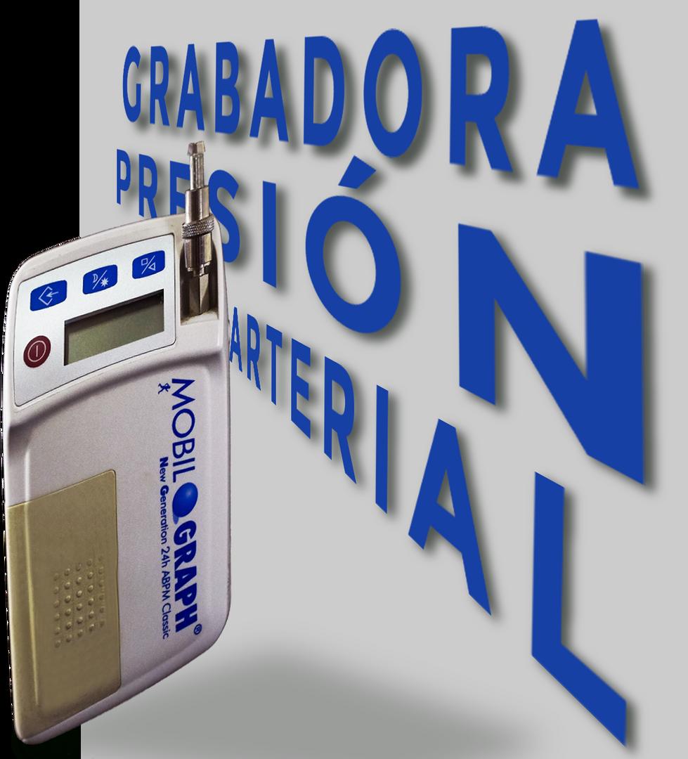 GRABADORA DE PRESIÓN ARTERIAL