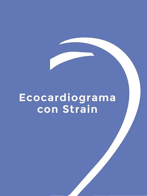 ECOCARDIOGRAMA CON STRAIN