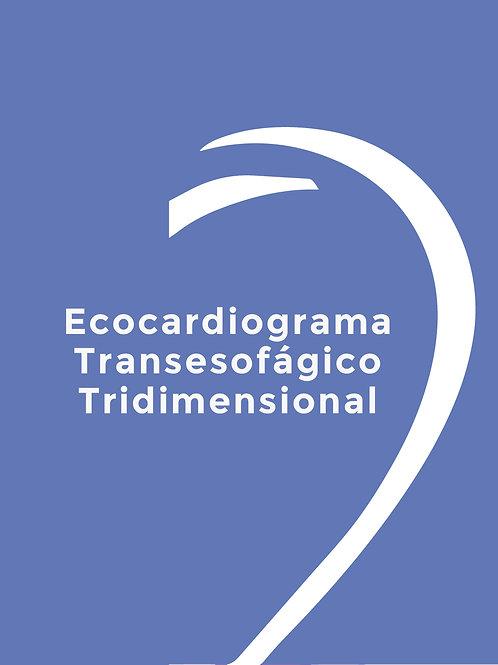 ECOCARDIOGRAMA TRANSESOFAGICO TRIDMENSIONAL