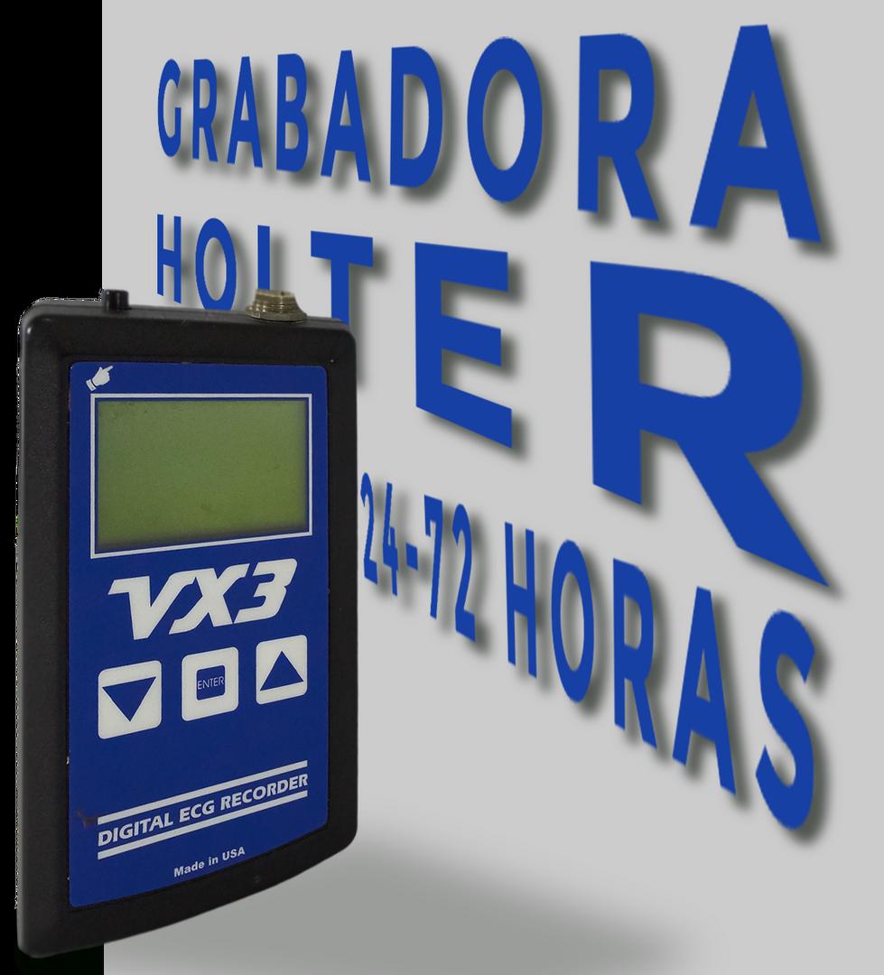 MONITOREO ELECTROCARDIOGRÁFICO HOLTER 24-72 HORAS