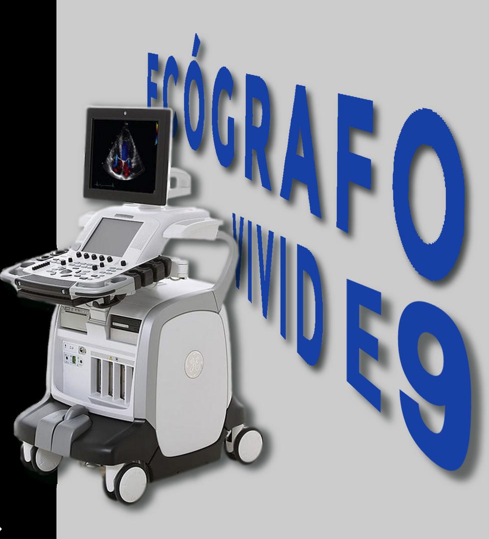 ECOGRAFO VIVID E9