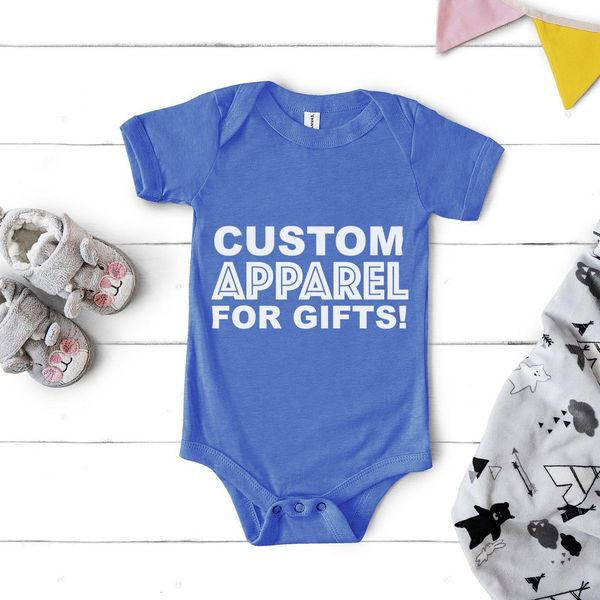 Custom Apparel for Baby Shower