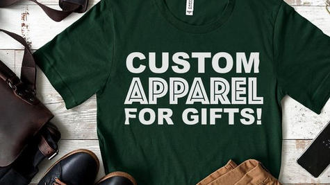 Custom Apparel for Gifts