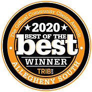 trib best of the best for 2020 sticker that is a design element to showcase popularity