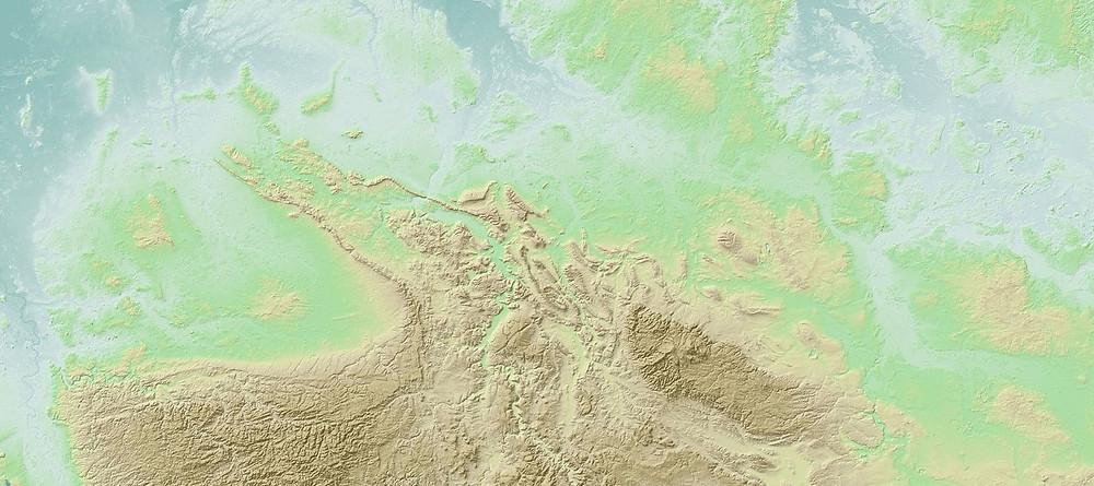 Mapa criado pelo Qgis