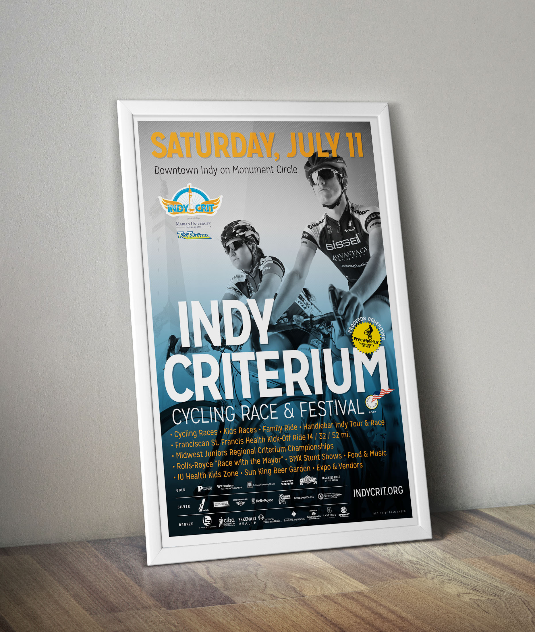 Indy Crit Promotional Poster