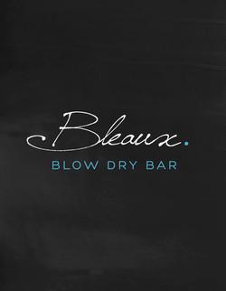 Bleaux Blow Dry Bar Identity