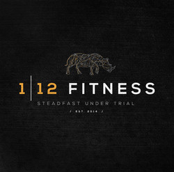 112 Fitness Logo