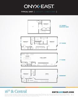 Onyx+East Floorplans