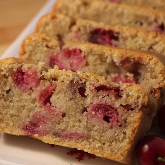 vegetarian cherry cake.JPG