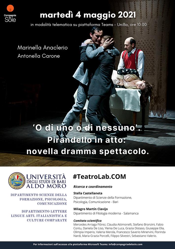 CDS_Locandina Seminario Pirandello_UniBa