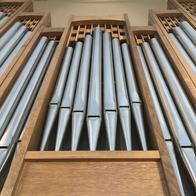 East Organ facade