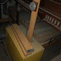 West Organ - under the Great soundboard
