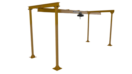 Freestanding Dual Monorail System