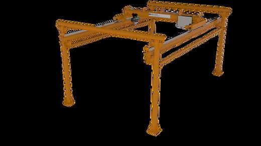 Freestanding Underhung Bridge Crane and Runway System