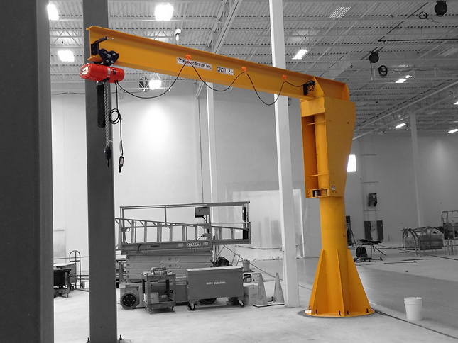 Heavy Duty Freestanding Jib Crane