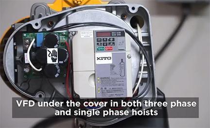Electric Chain Hoist – Consider VFD!