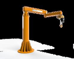 Freestanding Articulating Jib Crane
