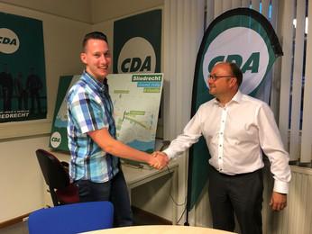 Frank Dunsbergen nieuwe fractievoorzitter CDA