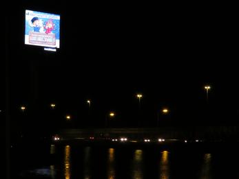 CDA blij met lichtvermindering reclamemast