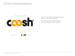 Coosh StyleGuide