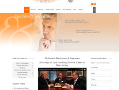 Goldstein Attorney Website