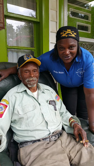 Time with Mr. Tommy Gains(original buffalo soldier)July 25, 2015