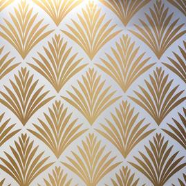Art Deco Gold