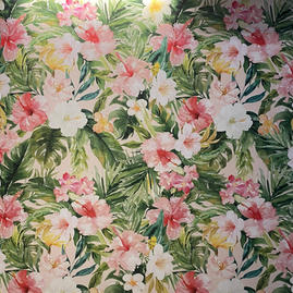 Hibiscus wall