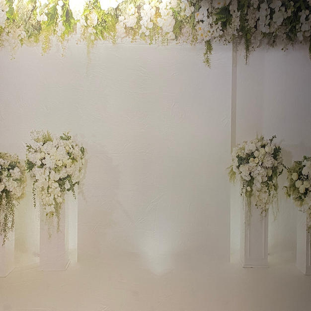 Elegant Greenery & Flowers