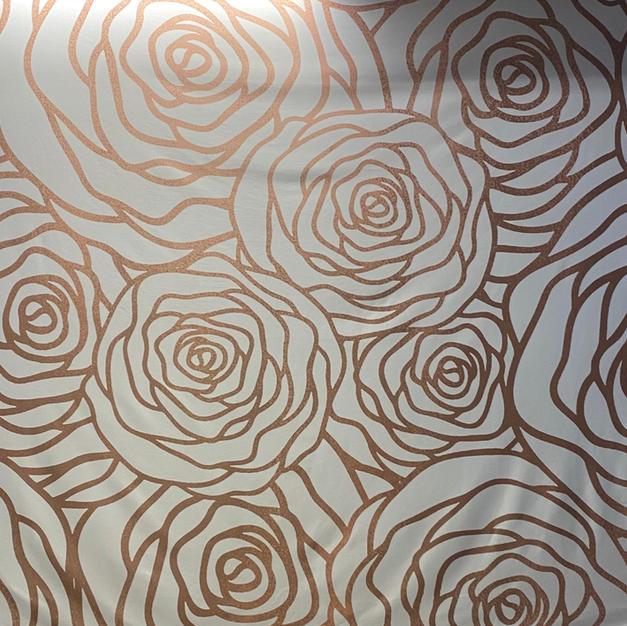 Rose Gold Roses