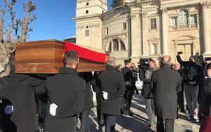 A chegada do corpo do Rei ao Santuário de Vicoforte