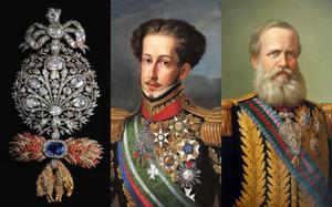 Os Imperadores do Brasil e suas insígnias da Ordem do Tosão de Ouro